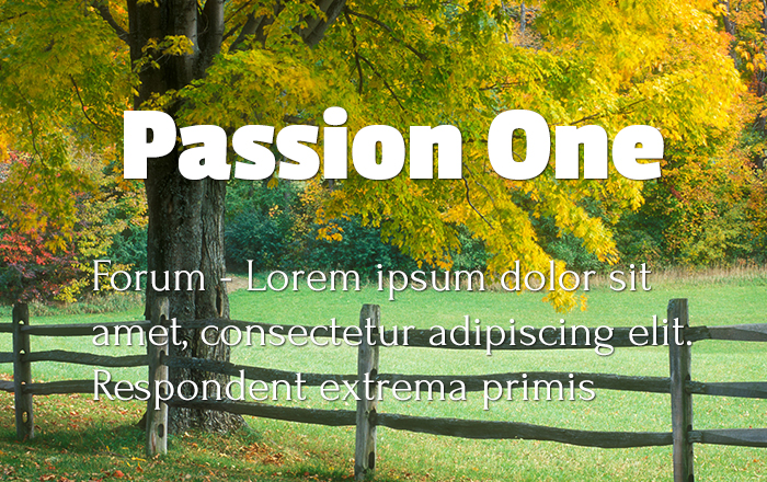 passion-one-forum