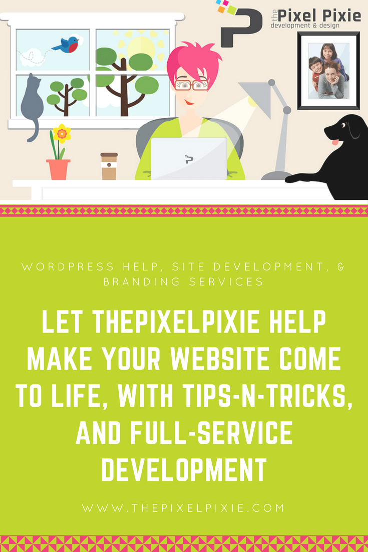 thePixelPixie.com - WordPress boutique